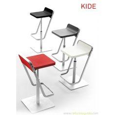 mesas, sillas y taburetes para la cocina | TABURETE ALTO DE COCINA KIDE ONDARRETA