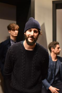 #Eidos designer Antonio Ciongoli poses for our cameras after his #NYFWM #FW16 presentation #SaksAtTheShows