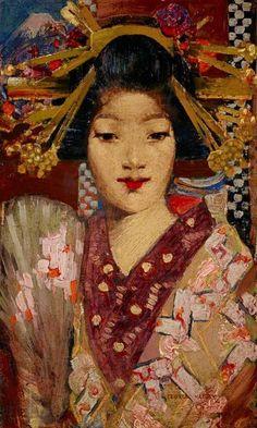 """Geisha Girl"" - George Henry"