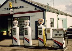 The petrol station is situated in Burrell Street, Comrie.