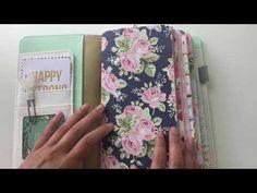 "My ""War Binder""/Journal set-up! Webster's Pages Travelers Notebook! - YouTube"