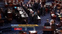 Senate Votes to Repeal 0bamacare — This Is What You Can Expect to Happen Next 12/3/15 This Is What You Can Expect to Happen Next 12/3/15 Congress will then send the measure, WHICH ALSO STRIPS FEDERAL FUNDING FOR Planned Parenthood, to 0bama who will veto it. This marks the first time the Republican controlled Congress has ever sent a bill to repeal obamacare to the president's desk.