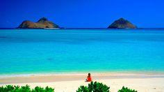 Lanikai Beach on Oahu, Hawaii! Most beautiful beach I have ever seen. Hawaii Vacation, Dream Vacations, Vacation Spots, Oahu Hawaii, Hawaii Beach, Kailua Beach, Maui, Visit Hawaii, Hawaii Travel