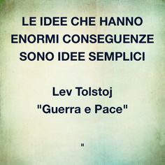 Sulle #idee e le loro #conseguenze