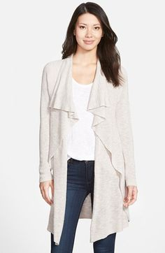 NIC+ZOE'Great Lengths' Drape Front Cardigan (Regular & Petite) available at #Nordstrom