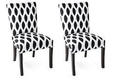 Carly Side Chairs, Pair on OneKingsLane.com