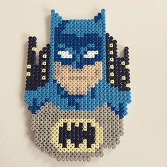 Batman perler beads by jawsan (design by mattyperler)