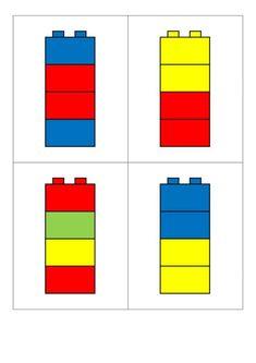 Motor Skills Activities, Preschool Learning Activities, Preschool Curriculum, Preschool Printables, Classroom Activities, Kindergarten Math Worksheets, Worksheets For Kids, Lego Challenge, Montessori Materials