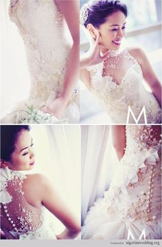 Nigerian Wedding: Exquiste Wedding Gowns With Excellent Craftmanship By Veluz Reyez |