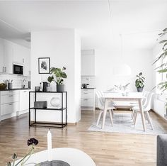 Minimalist Apartment Decor – Modern & Luxury Ideas - Apartment goals via @femtiofemkvadrat | Immy and Indi Interior Inspo