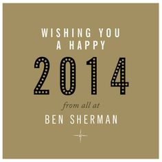 New Year Ben Sherman Email Design