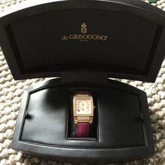 De Grisogono Uno Diamond Rose Gold Watch £27500 - http://designerjewelrygalleria.com/de-grisogono/de-grisogono-uno-diamond-rose-gold-watch-27500-3/