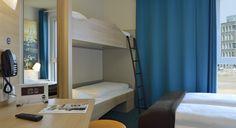 Familienzimmer für 4 Personen im B&B Hotel Köln-Messe