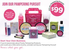 Join Our Pampering Pursuit See what it is like to be a part of  a great company and a team that supports and cares for all the team members.   Posh Crew now wants you.  www.perfectlyposh.us/shaleenague