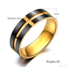 Nationalonlinediscounts Princess Tiara Crown Cz Black Stainless Steel Wedding Engagement 2 Ring Set Size 5,6,7,8,9 /& 10