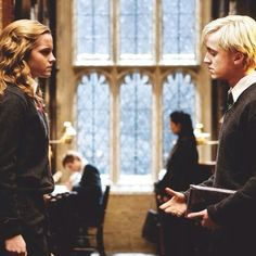 And it would be interesting if Hermione and Draco were a couple. :)