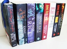 The Vampire Chronicles book collection  by Anne Rice #book #novel