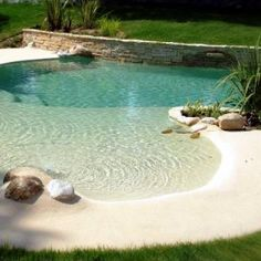 42 Awesome Natural Small Pools Design Ideas Best For Private Backyard - Piscina Backyard Pool Designs, Swimming Pools Backyard, Swimming Pool Designs, Pool Landscaping, Backyard Ideas, Lap Pools, Indoor Pools, Back Yard Pool Ideas, Small Pool Ideas