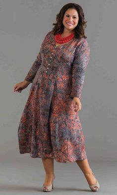Cindy Maxi Dress / MiB Plus Size Fashion for Women / Winter Fashion / http://www.makingitbig.com/product/5074