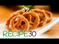 Fried Onion Rings with Epic Crunch – Easy Meals with Video Recipes by Chef Joel Mielle – RECIPE30