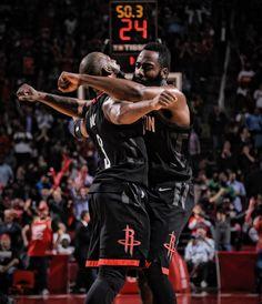 9989ffa02da0 Chris Paul and James Harden Houston Rockets Rockets Basketball
