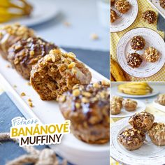 Banánové muffiny - zdravý fitness recept Bajola Fitness Certification, Apple Health, My Fitness Pal, 30 Day Workout Challenge, Up Bar, Strength Training Workouts, Workout Accessories, At Home Gym, Christmas Candy