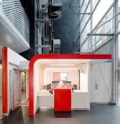 Santander UK Capitalises On DuPont Corian High Tech Surface | Specificationu2026