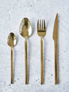 Made from high quality stainless steel with a stunning titanium rose gold finish, our cutlery has an elegant urban feel.
