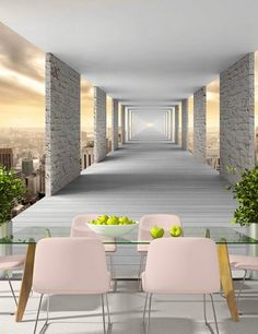 3D Office Brain Idea  19 Wallpaper Mural Wall Print Decal Indoor Murals AU Lemon