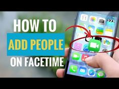 You can add people during your FaceTime session as long as the number of people is below 32 people. Here are the steps.