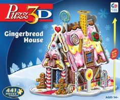 Gingerbread House (441pcs) Puzz 3D from Puzz 3D