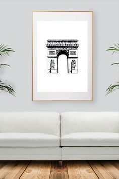 Black And White Wall Art, Paris, City Art, Decoration, All Print, Unique Jewelry, Handmade Gifts, Etsy, Collection