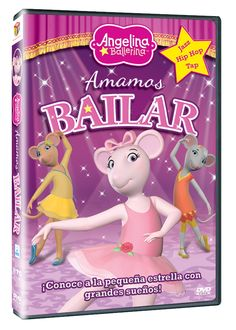 Diseño publicitario de DVD's - Stop Diseño Gráfico - Diseño de Amamos bailar - Angelina Ballerina - Hit Entertainment.