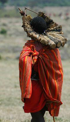 Africa | Masai initiation rite ceremony.  Masai Mara, Kenya | ©Frédéric Salein
