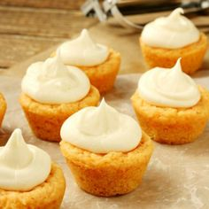 Orange Cookie Cups thick & crispy on the outside, soft on the inside & stuffed with Orange Cream Cheese Frosting.