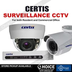 CERTIS IP Camera Singapore ChoiceCycle is offering wide range of reliable, affordable IP camera and personalized securities cameras that can help people protect their assets.
