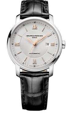 Classima steel and leather - Baume et Mercier