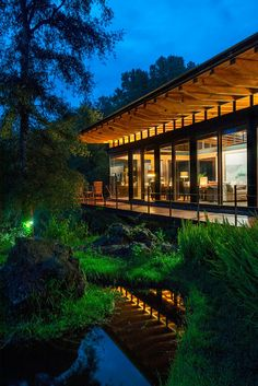 """Diseño de Interiores & Arquitectura: Casa Pintoresca """"Perdida"""" en el Bosque por Alejandro Sánchez García"""