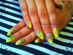 Fimo by vesna_creative - Nail Art Gallery nailartgallery.nailsmag.com by Nails Magazine www.nailsmag.com #nailart