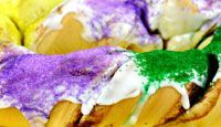 King Cakes  From January 6 until Mardi Gras Day, king cakes can be found in every home,   office, classroom or party. Find out why.