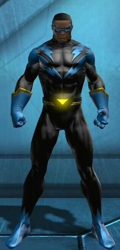 Black Lightning (real name Jefferson Pierce), was one of the first major African American superheroes to appear in DC Comics.[1] He debuted in Black Lightning #1 (April 1977), and was created by writer Tony Isabella and artist Trevor Von Eeden.[2][3]