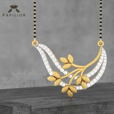 Begin your life long romance with Tanushri Royal Jewelry, Indian Jewelry, Gold Jewelry, Quartz Jewelry, High Jewelry, Gold Necklace, Diamond Mangalsutra, Gold Mangalsutra Designs, Gold Bangles Design