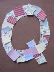 Letter of The Week- Quilt Q. Have each kid draw a quilt square on fabric.  Assemble.