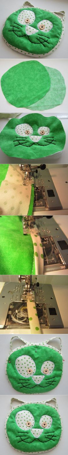 DIY Green Cat