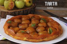 TARTA TATIN - El jardín de mis recetas