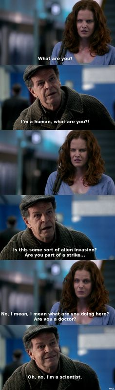 Classic Walter Bishop in Fringe.
