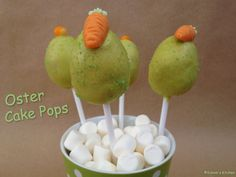 Schnin's Kitchen: Oster Cake Pops - mit Marmelade