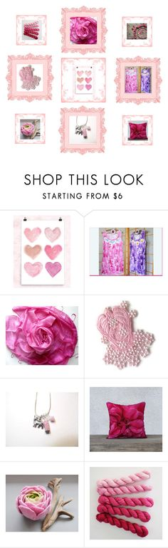"""Pink gifts"" by keepsakedesignbycmm ❤ liked on Polyvore featuring Scialle, jewelry, accessories and decor"