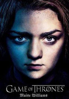Maisie williams game of thrones #photo #print poster arya stark #season 6 book tv,  View more on the LINK: http://www.zeppy.io/product/gb/2/161914962672/
