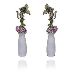 Annoushka Guest Designer Wendy Yue Fantasie Enchanted Forest Earrings